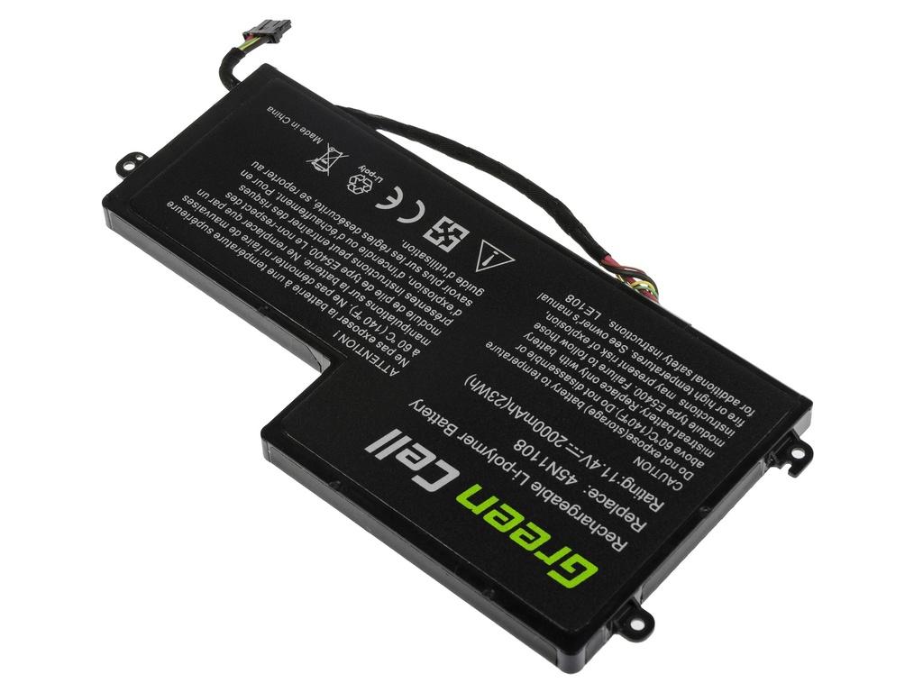 Green Cell Battery for Lenovo ThinkPad T440 T440s T450 T450s T460 X230s X240 X240s X250 X260 X270 / 11,4V 2000mAh