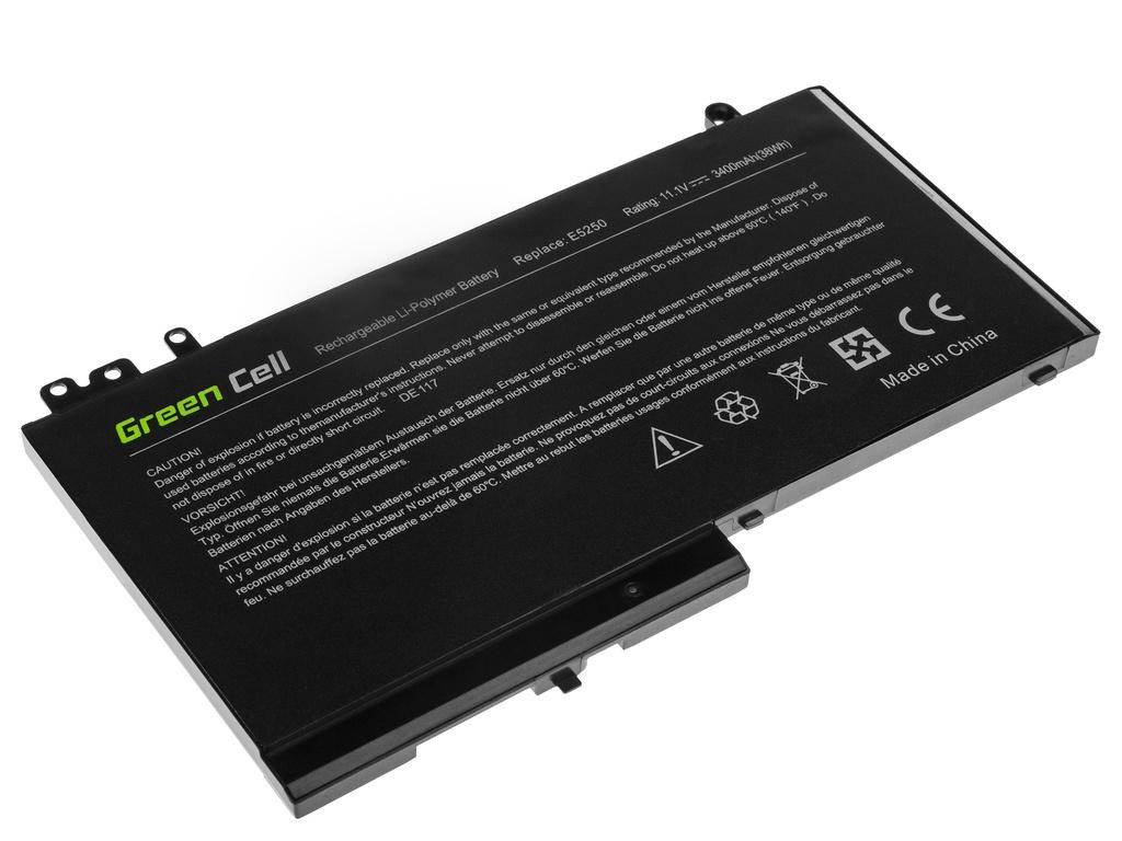 Green Cell Battery for Dell Latitude 11 3150 3160 12 E5250 E5270 / 11,1V 2900mAh