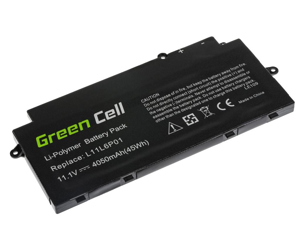 Green Cell Battery for Lenovo IdeaPad U510 / 11,1V 4050mAh