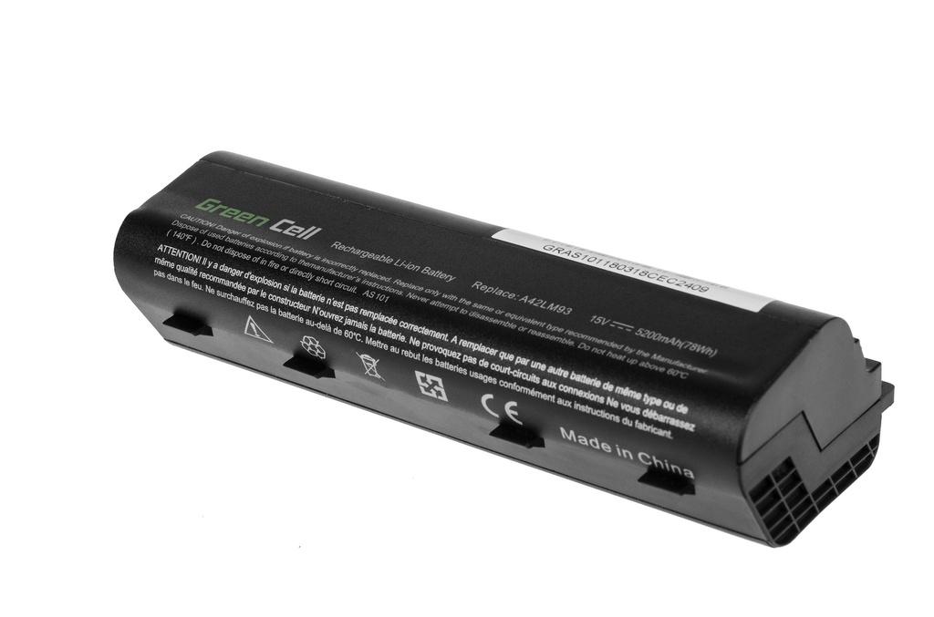 Green Cell Battery for Asus ROG G751 / 15V 5200mAh