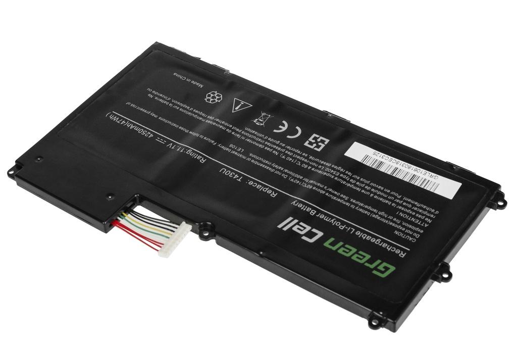 Green Cell Battery for Lenovo ThinkPad T430u / 11,1V 4250mAh