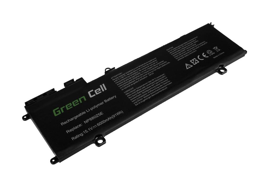 Green Cell Battery for Samsung NP770Z5E NP780Z5E ATIV Book 8 NP870Z5E NP870Z5G NP880Z5E / 15,1V 6000mAh