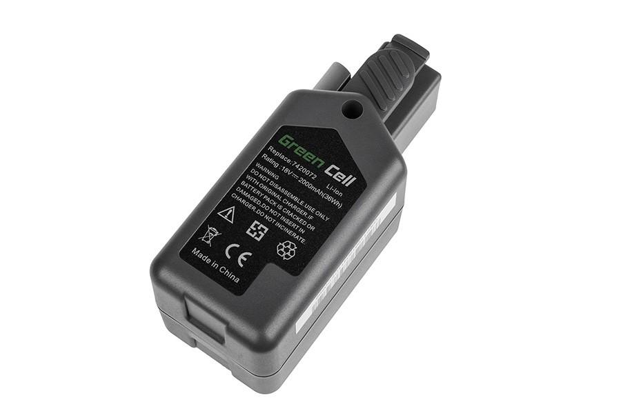 Green Cell Power Tool Battery 7420096 Power Pack 3 for Wolf-Garten GT 815 GTB 815 HSA 45 V