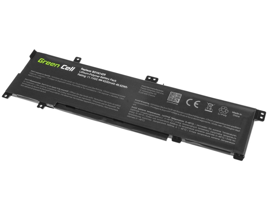 Green Cell Battery for Asus A501L K501L K501U / 11,1V 3400mAh