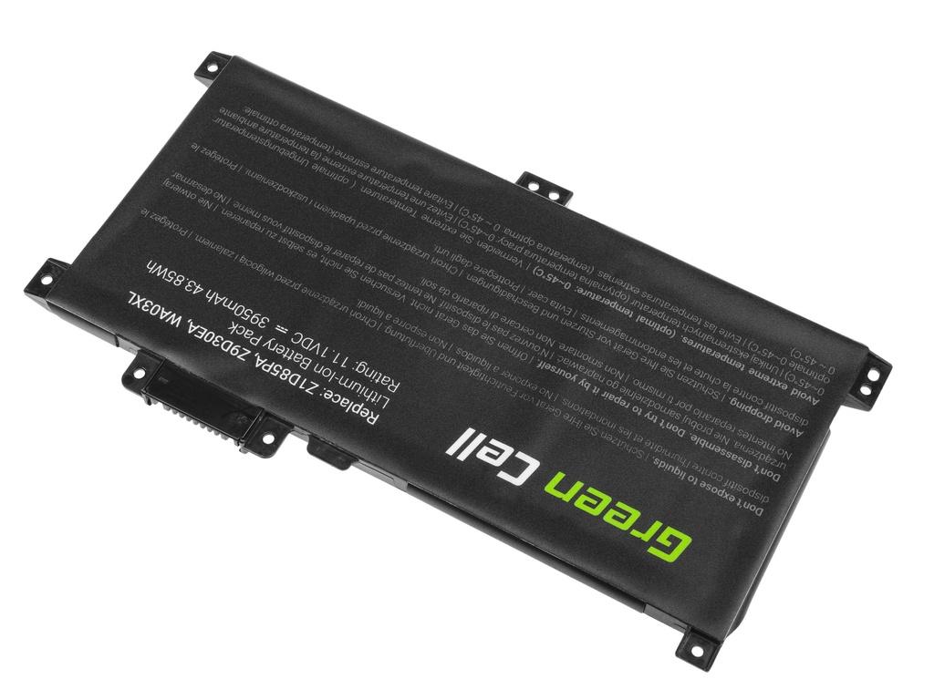 Green Cell Battery for HP Pavilion x360 / 11,1V 3950mAh