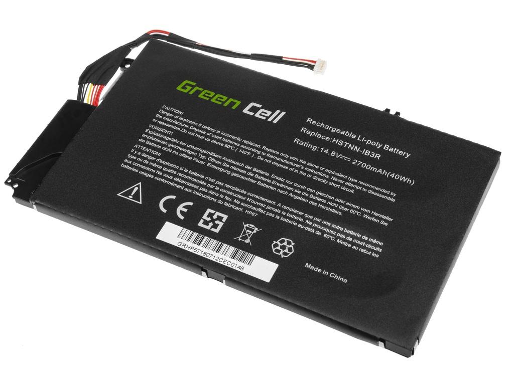 Green Cell Battery for HP Envy 4-1000 4-1100 4-1120EW 4-1120SW 4-1130EW 14.8V / 14,4V 2700mAh