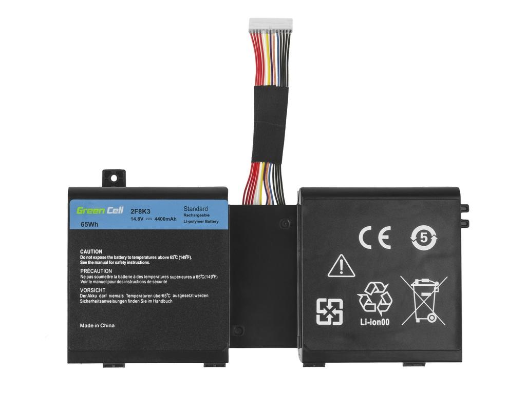 Green Cell Battery for Dell Alienware 17 18 / 14,4V 4400mAh