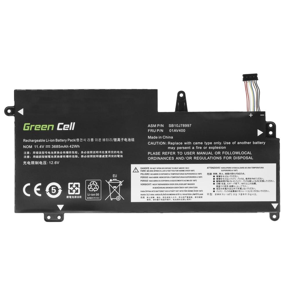 Green Cell Battery for Lenovo ThinkPad 13