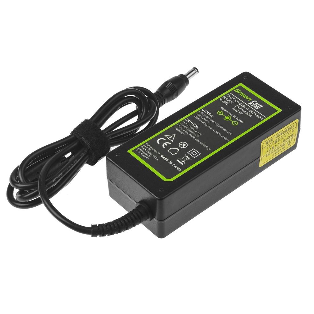 AC adapter Green Cell PRO 20V 3.25A 65W for Lenovo B560 B570 G530 G550 G560 G575 G580 G580a G585 IdeaPad Z560 Z570 P580