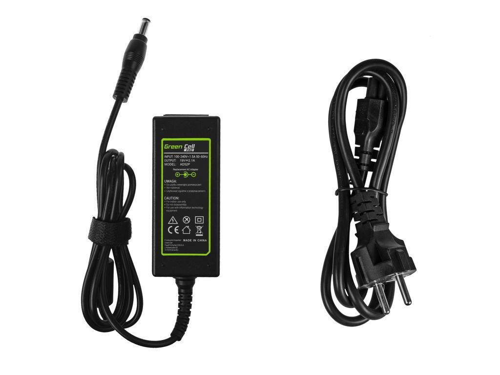 Green Cell PRO Charger  AC Adapter for MSI Wind U90 U100 U110 U120 U130 U135 U270 19V 2.1A 40W