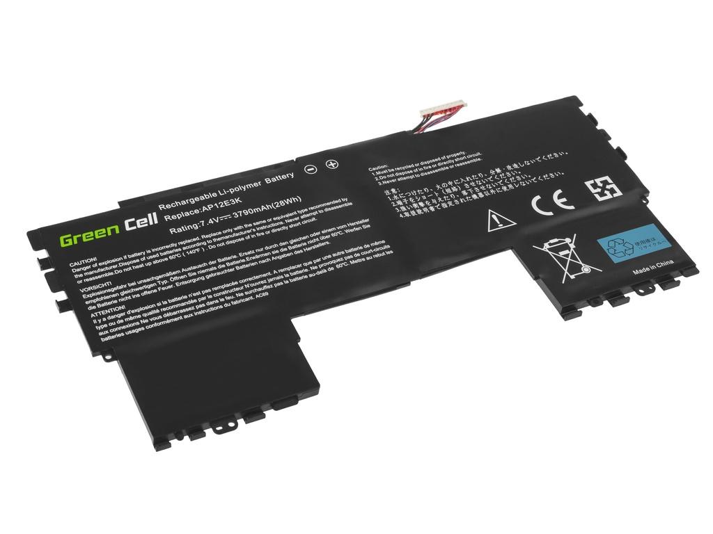Green Cell Battery AP12E3K for Acer Aspire S7-191