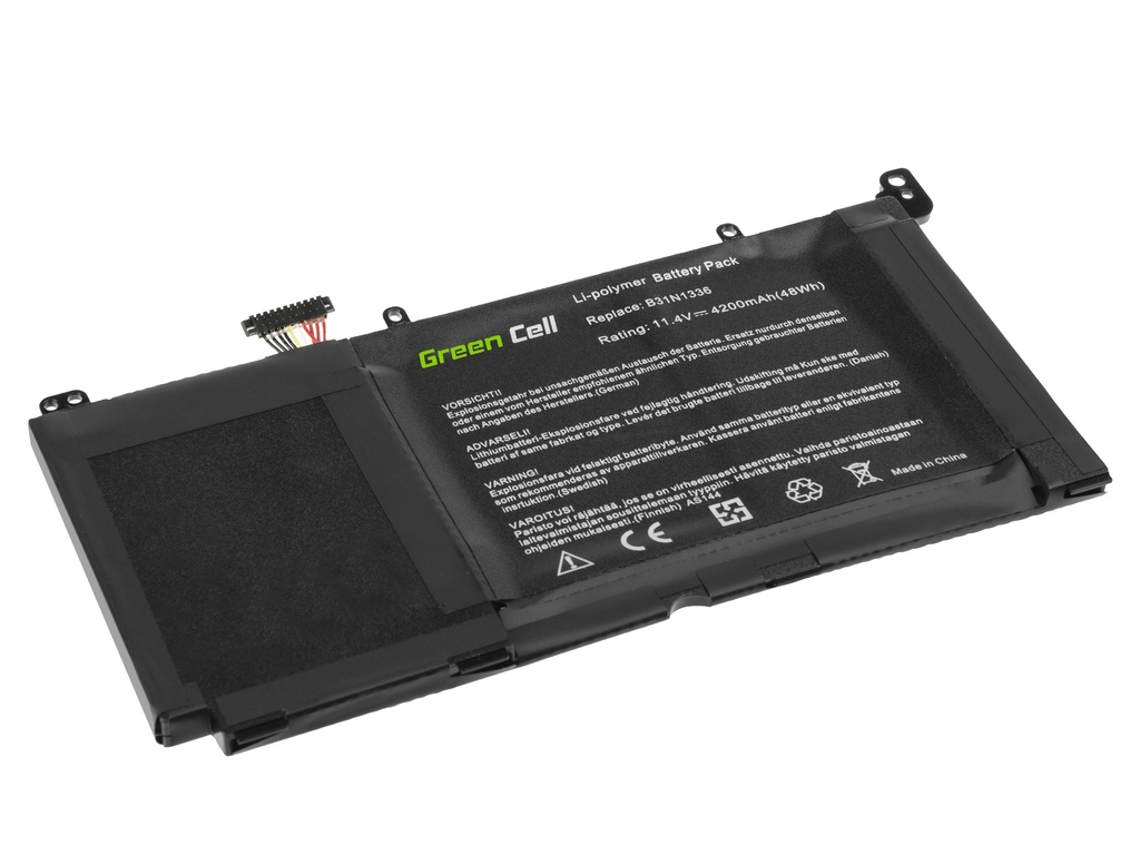 Green Cell Battery B31N1336 for Asus R553 R553L R553LN