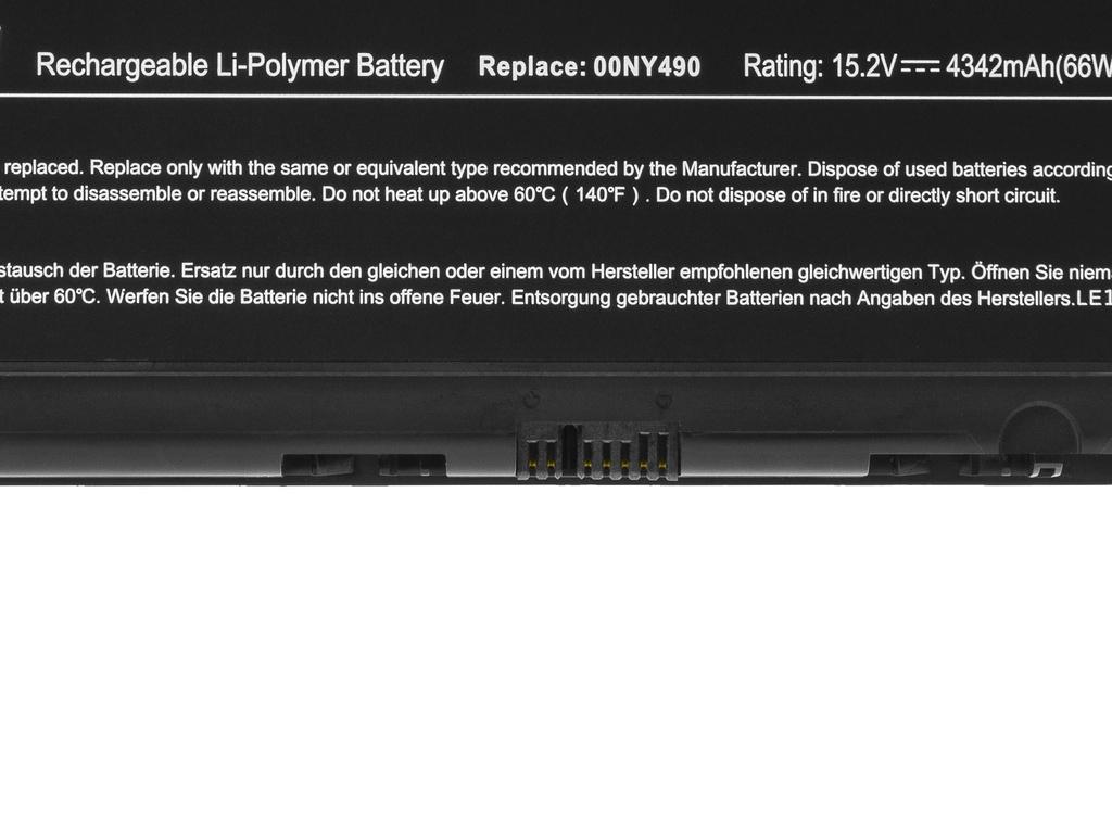 Green Cell Battery 00NY490 00NY491 for Lenovo ThinkPad P50 P51