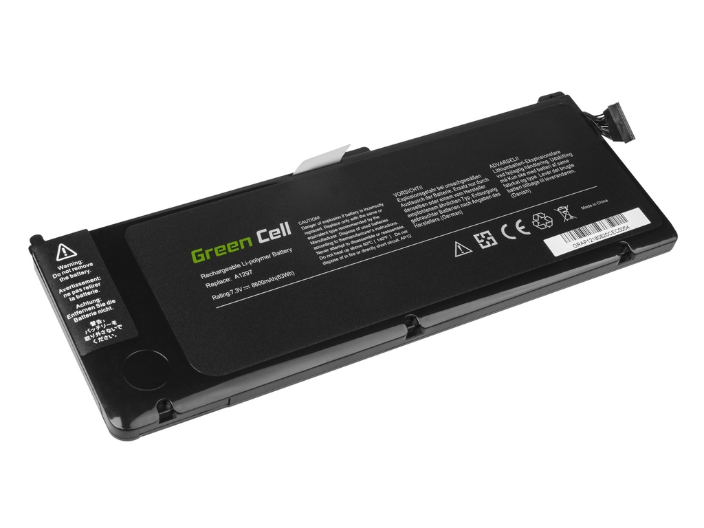 Green Cell A1309 Laptop Battery for Apple MacBook Pro 17 A1297 (Early 2009, Mid 2010)