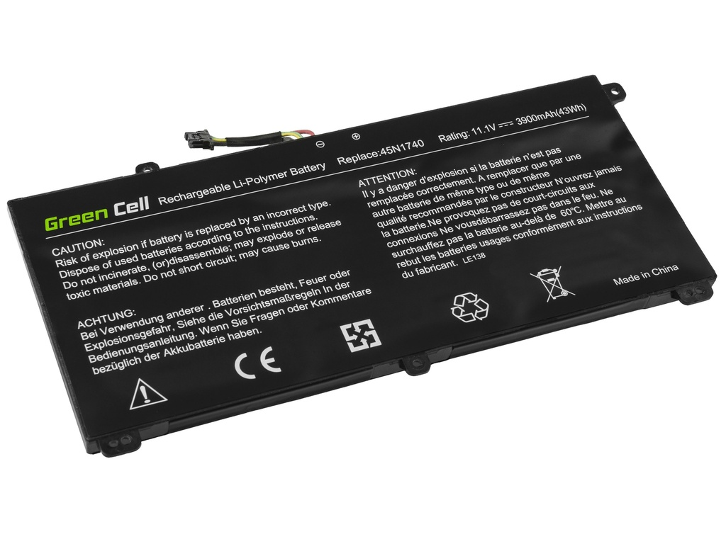 Laptop Battery Green Cell for Lenovo ThinkPad T550 T560 W550s P50s