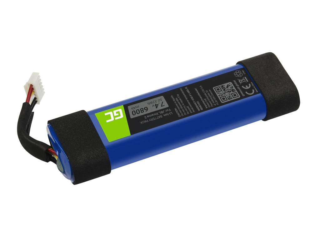 Battery Green Cell 2INR19/66-2 for JBL Xtreme 2