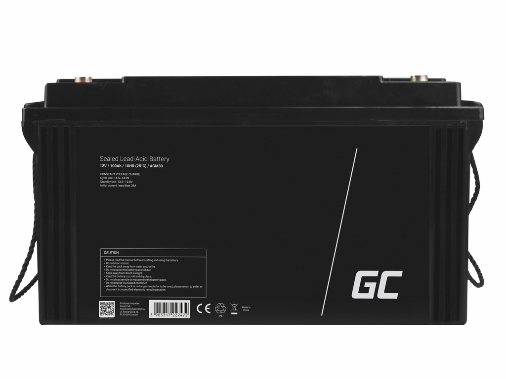 Akumulator AGM Green Cell 12V 120Ah