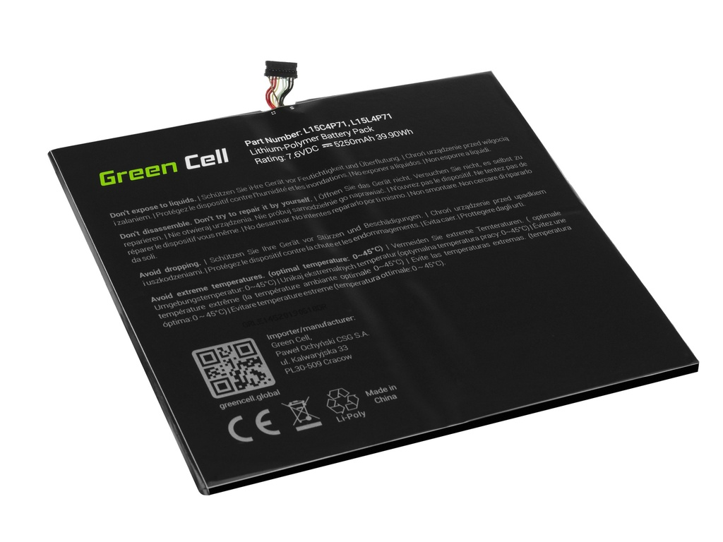 Laptop Battery Green Cell L15C4P71 L15L4P71 for Lenovo Miix 700-12ISK 710-12IKB