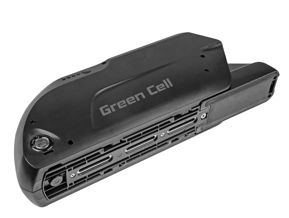 Battery Green Cell Down Tube 36V 15,6Ah 562Wh for E-Bike Pedelec