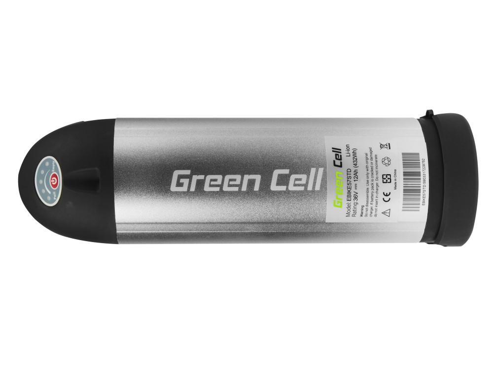Battery Green Cell Bottle 36V 11,6Ah 418Wh for E-Bike Pedelec