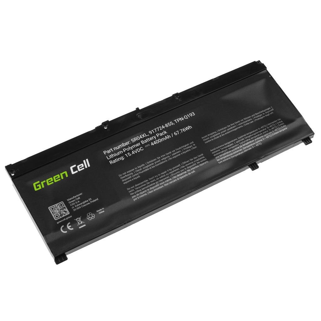 Battery Green Cell SR04XL for HP Omen 15-CE 15-DC 17-CB, HP Pavilion Power 15-CB