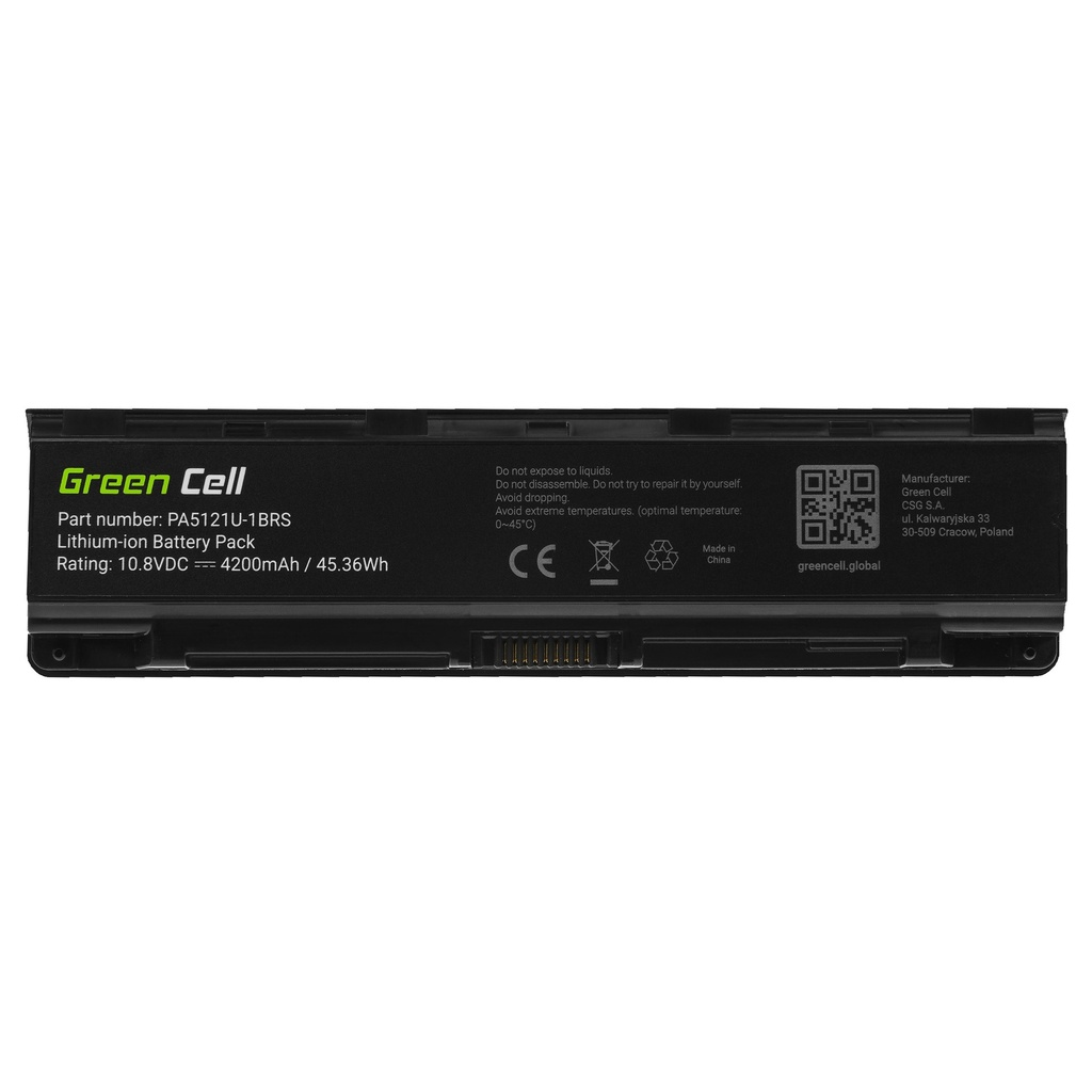 Battery Green Cell PA5121U-1BRS PABAS274 for Toshiba Satellite P70-A P70-A-10L P70-A-10W P75-A P75-A7100 P75-A7200