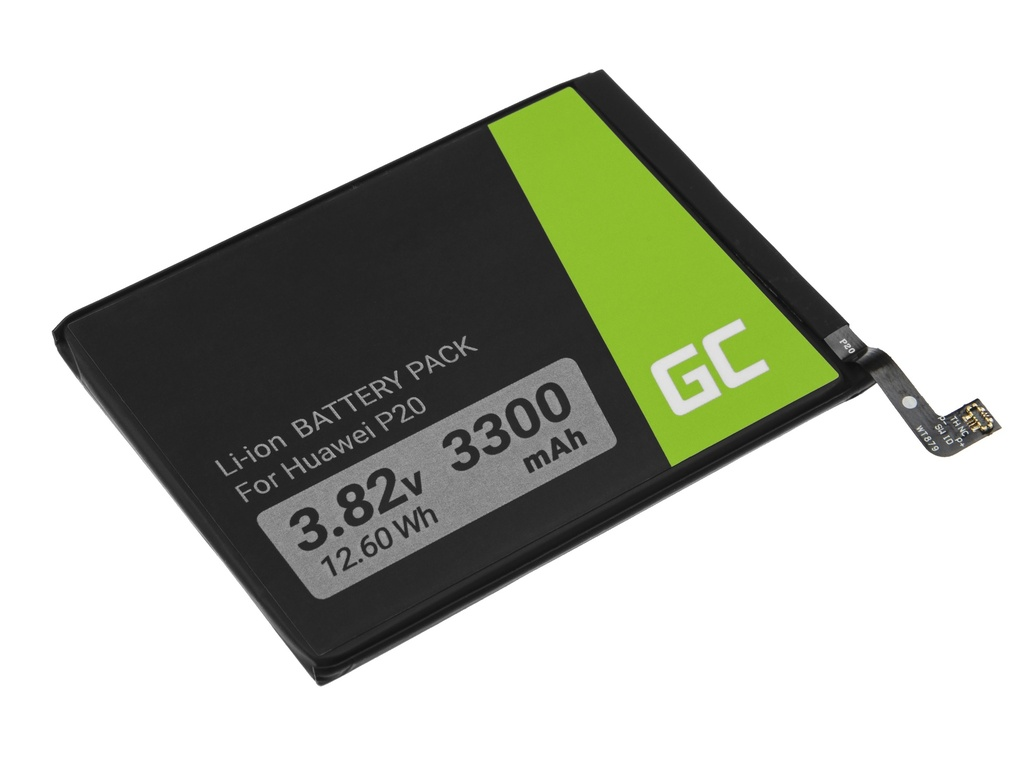 Battery Green Cell HB396285ECW for Huawei P20 / Honor 10