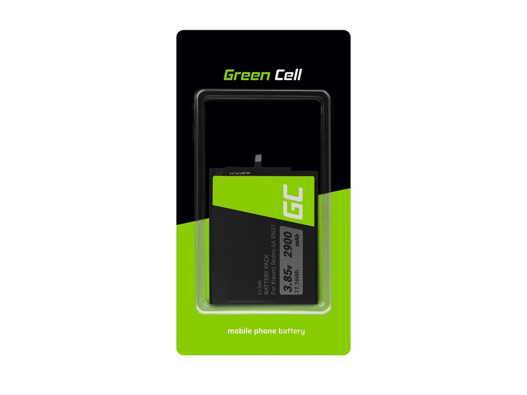 Battery Green Cell BN37 for Xiaomi Redmi 6A