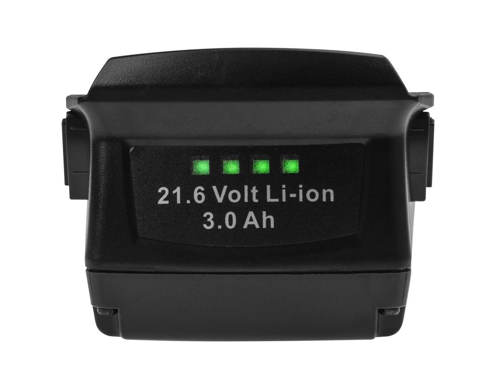 Battery (3Ah 21.6V) B18 B22 Green Cell for Hilti SCW SCM SF SFC SFH SID SIH 22-A