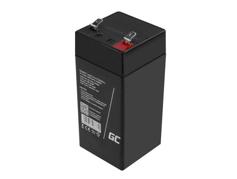 Battery AGM VRLA Green Cell 6V 7.2Ah