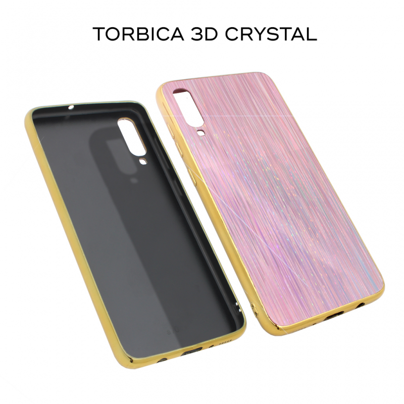 3D Crystal Case for Samsung A805F Galaxy A80 Pink