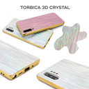 3D Crystal case for Samsung N975F Galaxy Note 10 Plus silver