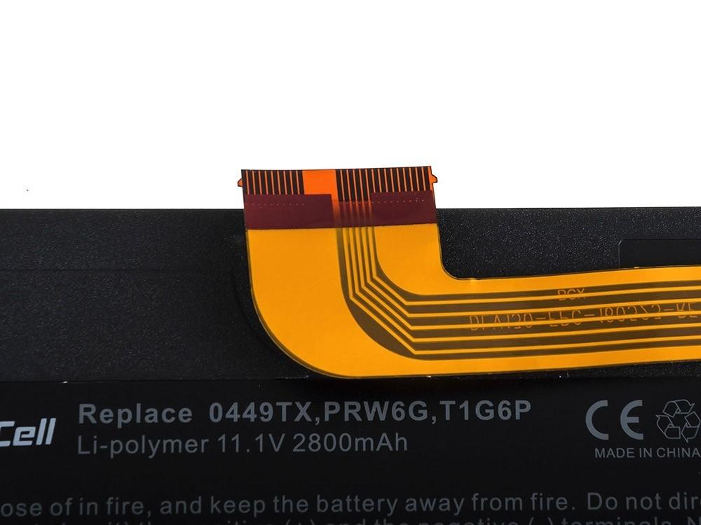 Green Cell Battery for Dell Vostro V13 V13Z V130 V131 V1300 / 11,1V 2700mAh