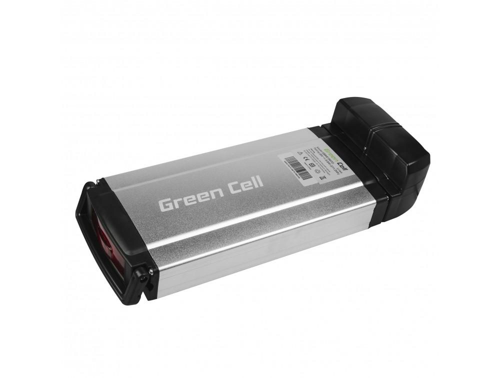 Battery Green Cell Rear Rack 24V 8.8Ah 211Wh for E-Bike Pedelec