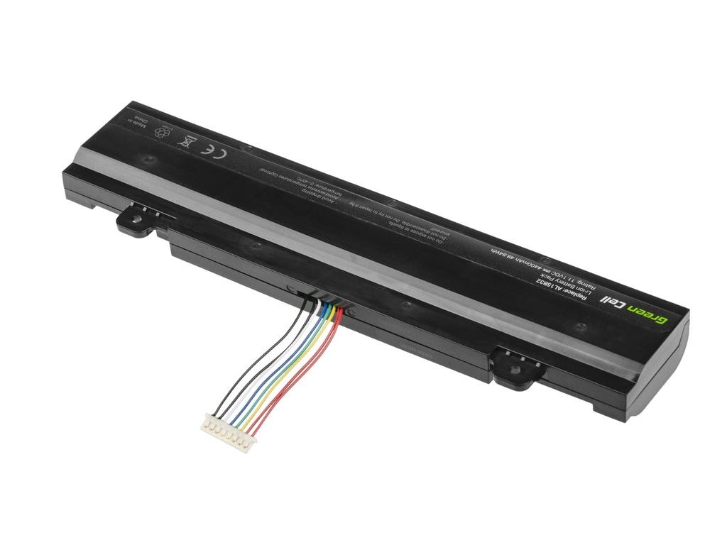 Green Cell Battery for Acer Aspire V 15 V5-591G AL15B32 / 11,1V 4400mAh
