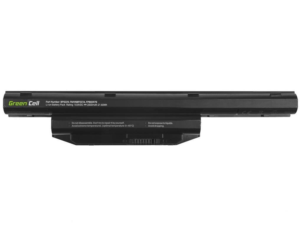 Laptop Battery Green Cell for Fujitsu LifeBook A514 A544 A555 AH544 AH564 E547 E554 E733 E734 E743 E744 E746 E753 E754 S904