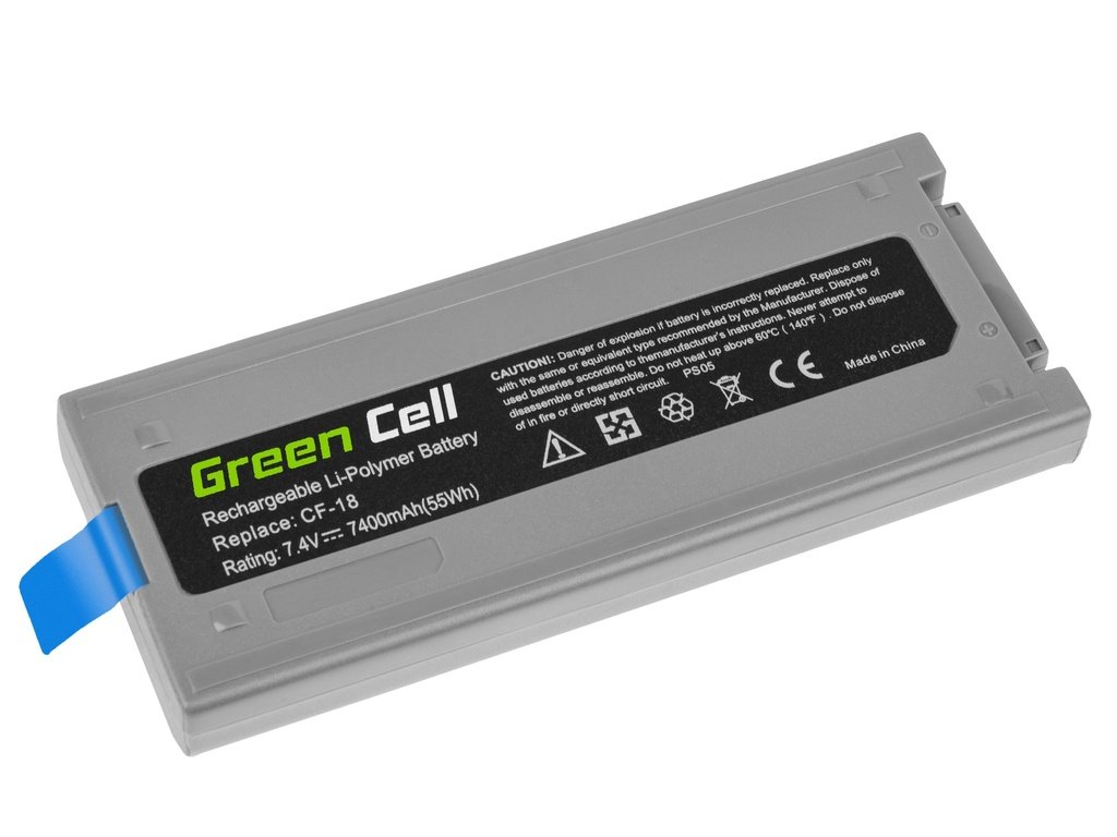 Laptop Battery Green Cell CF-VZSU30B for Panasonic Toughbook CF-18