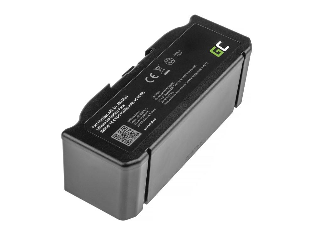 Battery (3.4Ah 14.4V) ABL-D1, 4624864 for iRobot Roomba e5, e6, i3, i3+, i7, i7+, i8, i8+