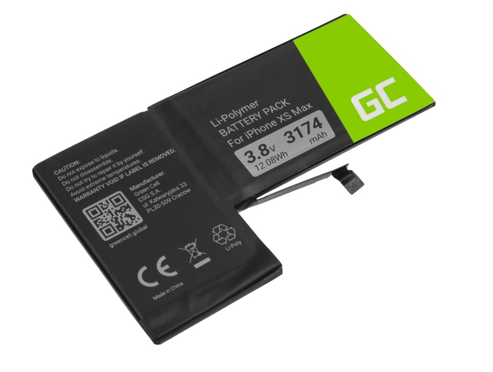 Battery Green Cell A2101 for  Apple iPhone XS Max + tools