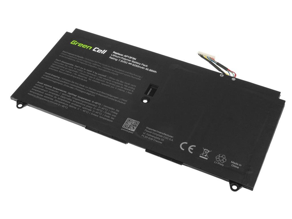 Green Cell Battery for Acer Aspire S7-392 S7-393 AP13F3N / 7,5V 6250mAh