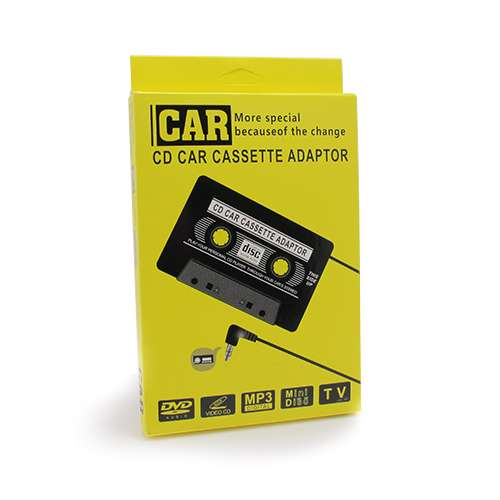 Adapter kaseta za auto crna