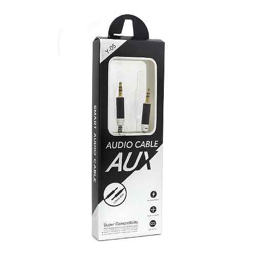 Audio AUX cable New black and white
