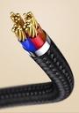 Baseus Zinc magnetic USB cable - Lightning 1.5A 2m black (CALXC-I01)