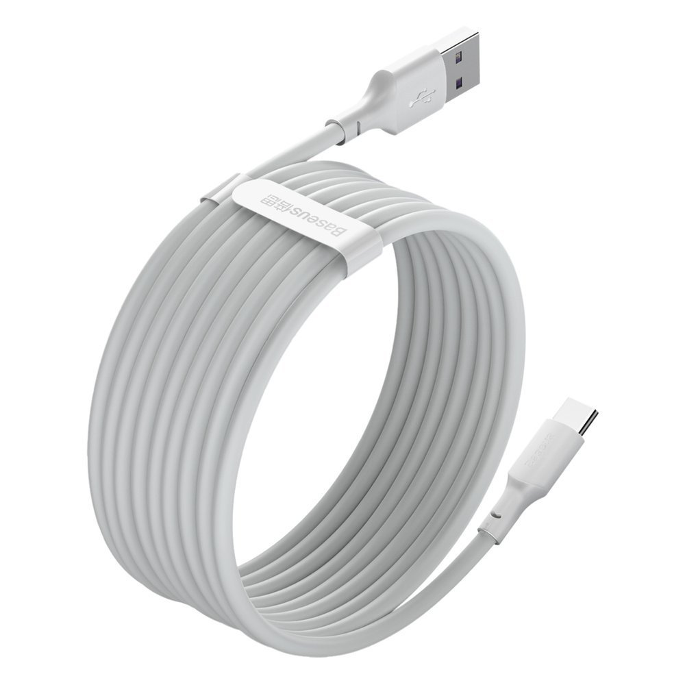 Baseus 2x set USB Typ C - Lightning cable fast charging Power Delivery Quick Charge 40 W 5 A 1,5 m white (TZCATZJ-02)