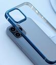 Baseus Shining Case Flexible gel case with a shiny metallic frame iPhone 12 Pro / iPhone 12 Dark green (ARAPIPH61P-MD06)