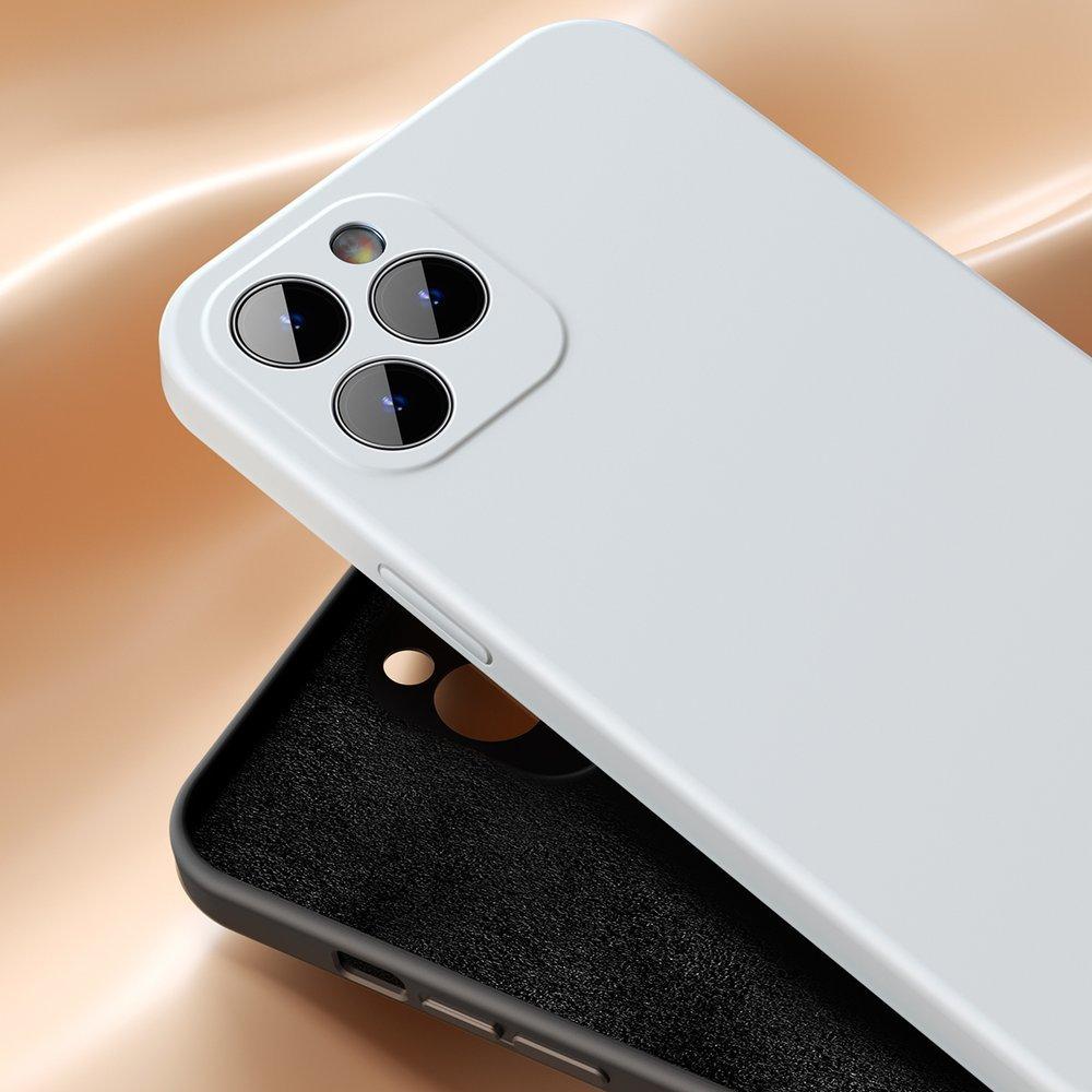 Baseus Liquid Silica Gel Case Flexible gel case iPhone 12 Bright red (WIAPIPH61N-YT09)