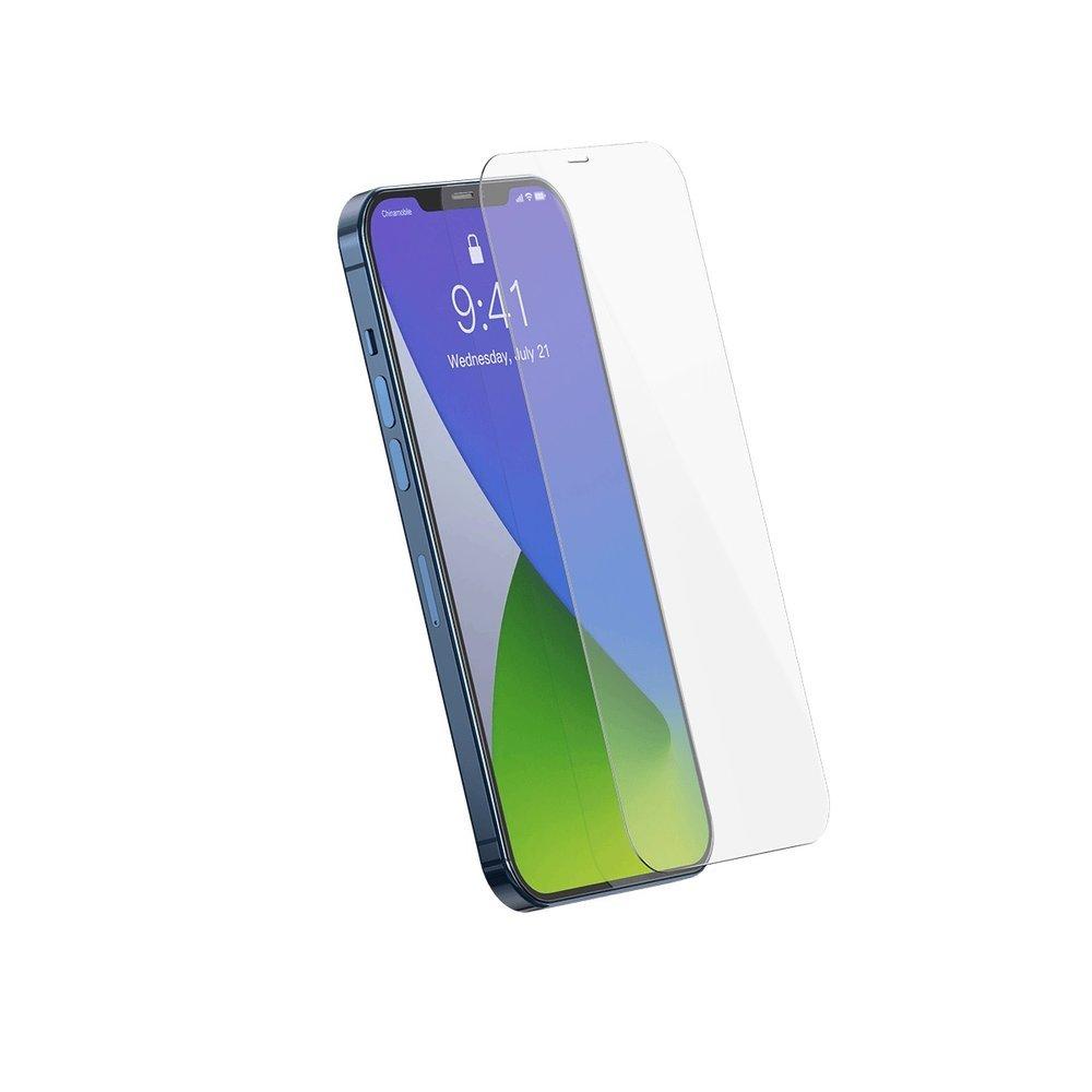 Baseus 2x 0,3 mm tempered glass iPhone 12 Pro / iPhone 12 Transparent (SGAPIPH61P-LS02)