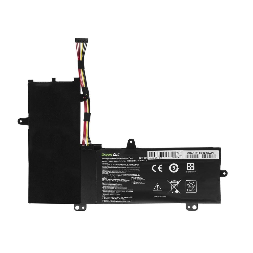 Green Cell C21N1504 Battery for Asus Transformer Book Flip TP200S TP200SA / 7,6V 5000mAh
