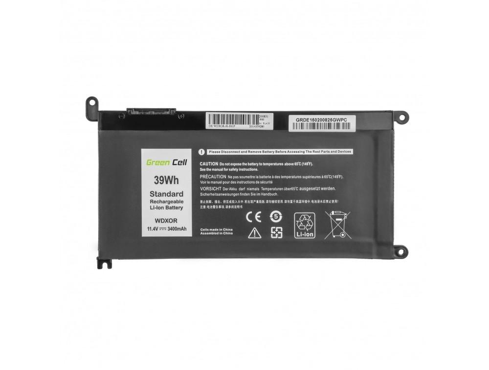 Battery Green Cell WDX0R WDXOR for Dell Inspiron 13 5368 5378 5379 14 5482 15 5565 5567 5568 5570 5578 5579 7560 7570 17 5770