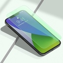 Baseus 2x 0,15 mm Eye Protection Full Coverage Green Tempered Glass Film with Anti Blue Light Filter for iPhone 12 Pro Max (SGAPIPH67N-LQ02)